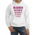 Amusement Park 'Rides' Rider Hooded Sweatshirt
