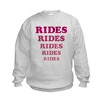 Amusement Park 'Rides' Rider Kids Sweatshirt