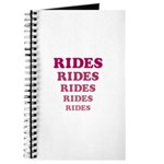 Amusement Park 'Rides' Rider Journal