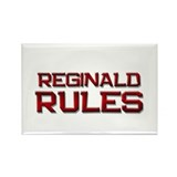 reginald rules Rectangle Magnet (10 pack)