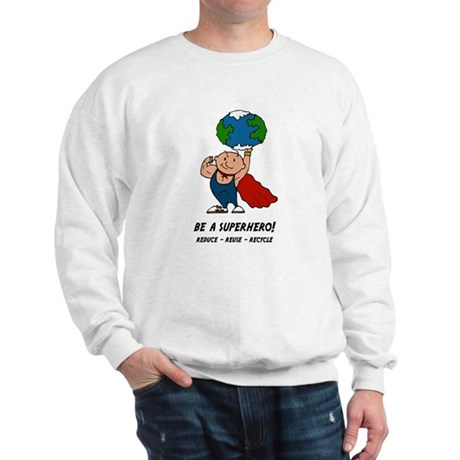 Earth Day Superhero Sweatshirt