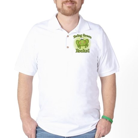 Being Green Rocks Golf Shirt