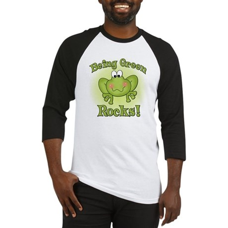 Being Green Rocks Baseball Jersey