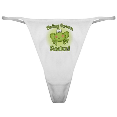 Being Green Rocks Classic Thong