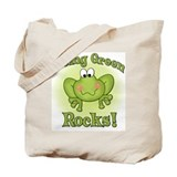 Being Green Rocks Tote Bag