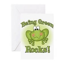 Being Green Rocks Greeting Cards (Pk of 10)
