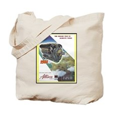 """WWII Allison Engines"" Tote Bag"
