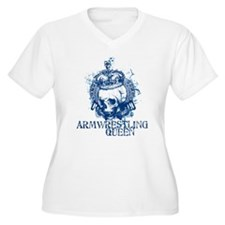 Armwresting Queen Skull T-Shirt