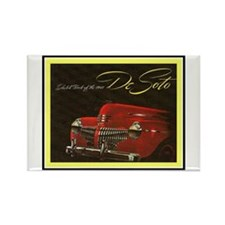 """1941 DeSoto"" Rectangle Magnet"