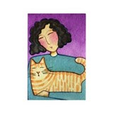 CAT LADY No. 47...Refrigerator Magnet (no text)
