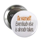 "Be Yourself! 2.25"" Button (10 pack)"