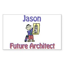 Jason - Future Architect Rectangle Decal