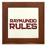 raymundo rules Framed Tile