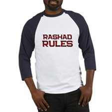 rashad rules Baseball Jersey