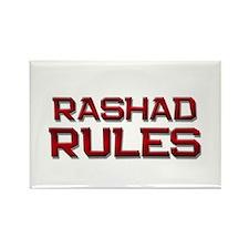 rashad rules Rectangle Magnet (10 pack)