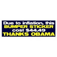 Inflation Bumper Sticker (50 pk)