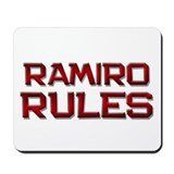 ramiro rules Mousepad