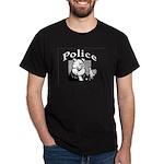 Police  Shirts Black T-Shirt
