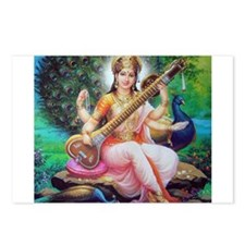 Saraswati ji Postcards (Package of 8)