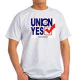 union  yes Ash Grey T-Shirt
