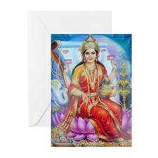 Lakhsmi mata Greeting Cards (Pk of 10)