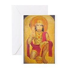 Hanuman Ji Greeting Card