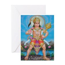 Jai Hanuman Greeting Card