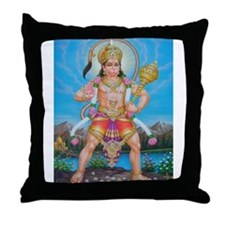 Jai Hanuman Throw Pillow