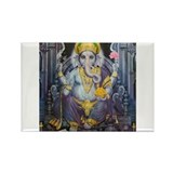 Ganesha ji Rectangle Magnet