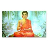 Buddha ji Rectangle Decal