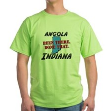 angola indiana - been there, done that T-Shirt