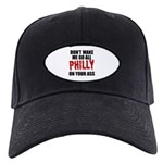 Philadelphia Baseball Black Cap
