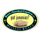 got junonias? Oval Decal