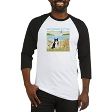 Rowboat / (B&W) Cat Baseball Jersey