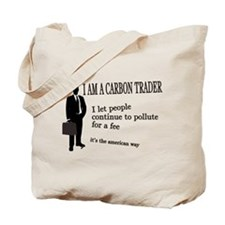Carbon Trading Tote Bag