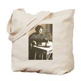 Maria Montessori Education Tote Bag