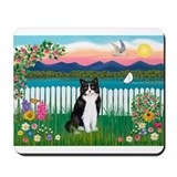 Shore / (B&amp;W) Cat Mousepad