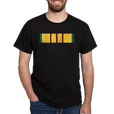 Vietnam Service Black T-Shirt
