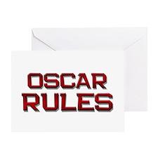 oscar rules Greeting Card