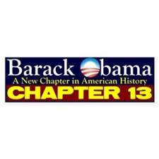 Chapter 13 Bumper Sticker (50 pk)