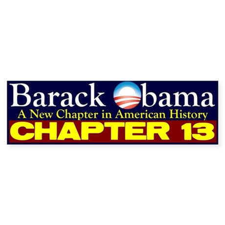 Chapter 13 Bumper Sticker