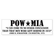 POW/MIA Bumper Bumper Sticker