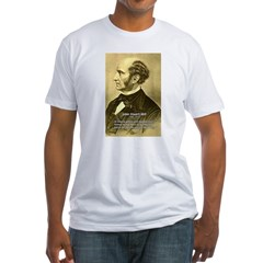 Utilitarianism John Mill Fitted T-Shirt