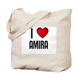 I LOVE AMIRA Tote Bag