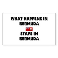 What Happens In BERMUDA Stays There Decal