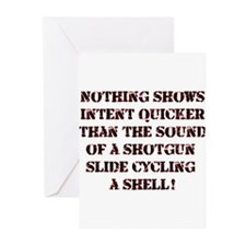 Showing Intent...Shotgun Greeting Cards (Pk of 20)