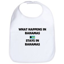 What Happens In BAHAMAS Stays There Bib
