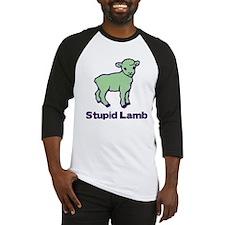 stupid lamb - bella 329 Baseball Jersey