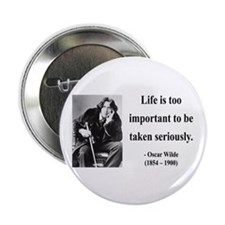 "Oscar Wilde 17 2.25"" Button (10 pack)"