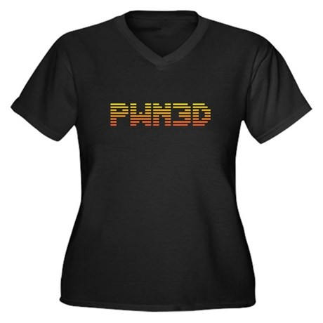 PWN3D Plus Size V-Neck Shirt